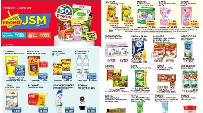 Promo Alfamart Terbaru 6 Maret 2021, Beli Susu Gratis Minyak Goreng 1 Liter, Cek Katalog di Sini