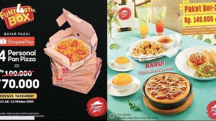 Daftar Promo Pizza Hut Terbaru Juli 2020 Personal Pizza Hanya Rp 70 Ribu Hingga Beli 1 Gratis 1 Halaman All Tribun Manado