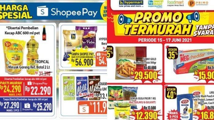 Promo Hypermart 16 Juni 2021, Diskon 50 Persen, Minyak Goreng 2 Liter Rp 22 Ribuan, Cek Katalog