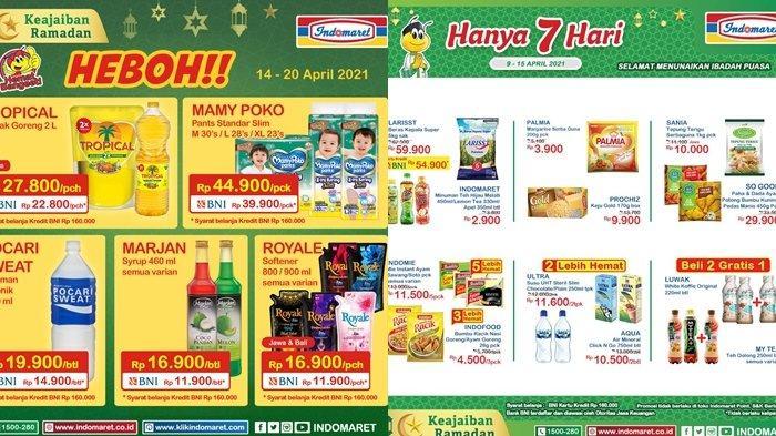 Promo Indomaret 15 April 2021, Diskon Harga Beras dan Minyak Goreng, Aneka Minuman Dijual Murah