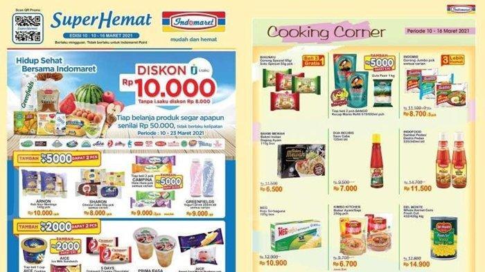 Promo Indomaret Senin 15 Maret 2021, Diskon Harga Susu dan Minyak, Beli 2 Gratis 1, Cek Katalog