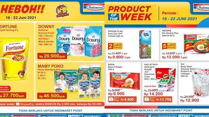 Promo Indomaret 16 Juni 2021, Minyak Goreng 2 Liter Rp 27 Ribuan, Beli 2 Gratis 1, Cek Katalog