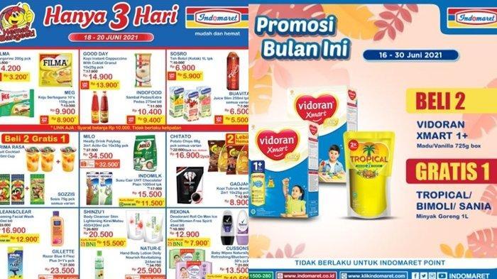Promo Indomaret 18 Juni 2021, Beli Susu Gratis Minyak Goreng, Diskon Harga Camilan, Cek Katalog