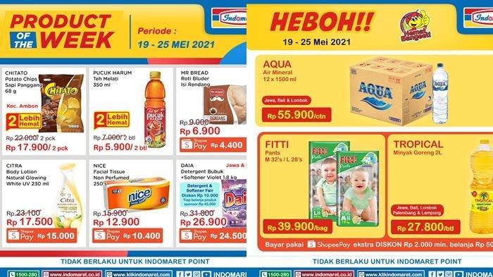 Promo Indomaret 20 Mei 2021, Super Hemat, Beli 2 Lebih Hemat, Harga Susu & Snack Murah, Cek Katalog