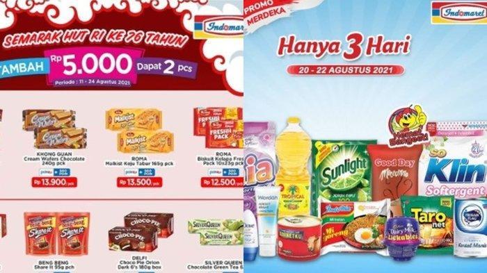 Promo Indomaret 21 Agustus 2021, Diskon Harga Snack, Tambah Rp 5.000 Dapat 2, Cek Katalog