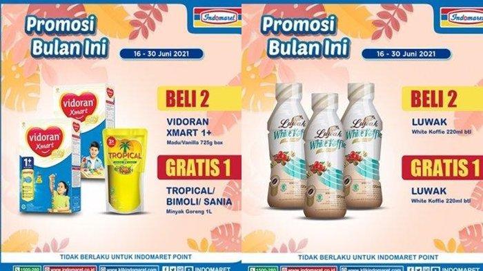 Promo Indomaret 23 Juni 2021, Diskon Harga Minyak dan Susu dan Camilan Murah, Cek Katalog