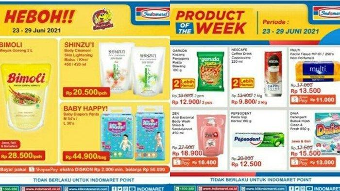 Promo Indomaret 25 Juni 2021, Diskon Minyak Goreng, Harga Hemat Susu dan Camilan, Cek Katalog