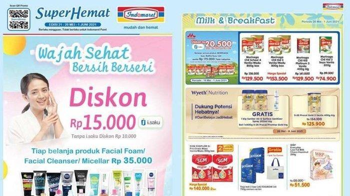 Promo Indomaret 27 Mei 2021, Diskon Rp 15 Ribu, Harga Murah Snack hingga Bumbu Masak, Cek Katalog
