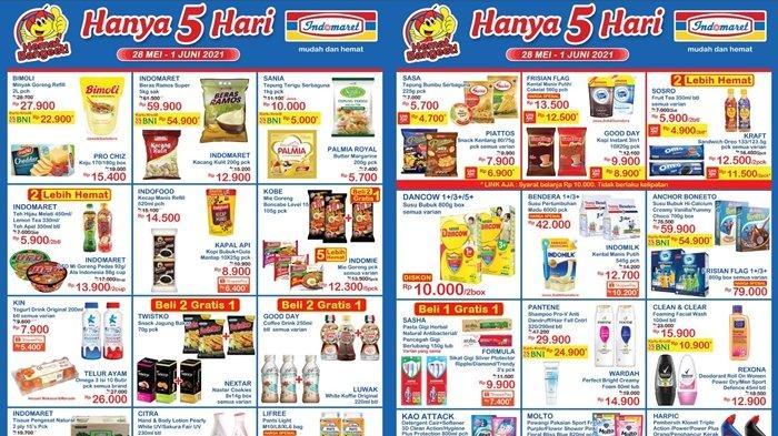 Promo Indomaret 28 Mei 2021, Beli Susu Diskon Rp 10 Ribu, Harga Beras dan Minyak Murah, Cek Katalog