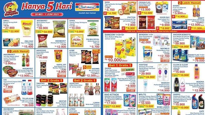 Promo Indomaret 30 Mei 2021, Diskon Minyak Goreng, Susu dan Deterjen, Beli 2 Gratis 1, Cek Katalog