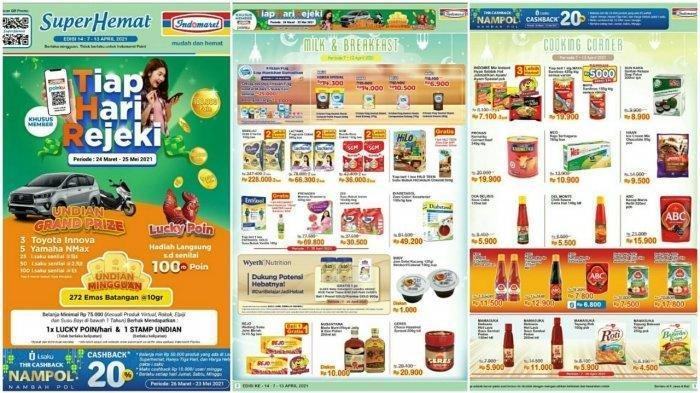 Promo Indomaret 8 April 2021, Beras Murah, Diskon Harga Susu Minuman Snack, Cek Katalog di Sini