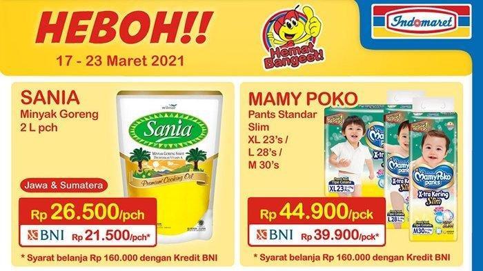 Promo Indomaret 21 Maret 2021, Potongan Harga Beras Susu Snack, Deterjen Hemat Banget, Cek Katalog