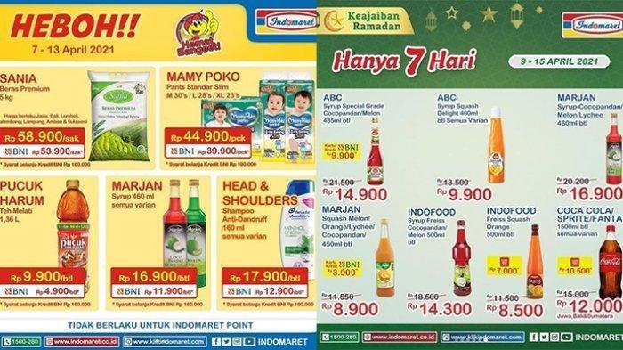Promo Indomaret Hari Selasa 13 April 2021, Soft Drink Beli 2 Gratis 1, Cek Katalognya di Sini