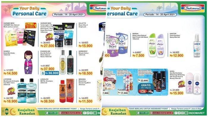 Promo Indomaret Hari Selasa 20 April 2021, Produk Personal Care Murah, Cek Katalognya di Sini