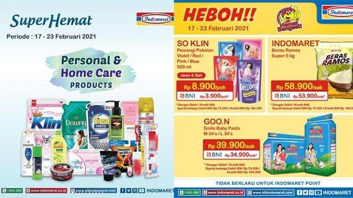 Promo Indomaret Hari Selasa 23 Februari 2021, Beras 5kg Rp 53.900, Selengkapnya Cek Katalog di Sini
