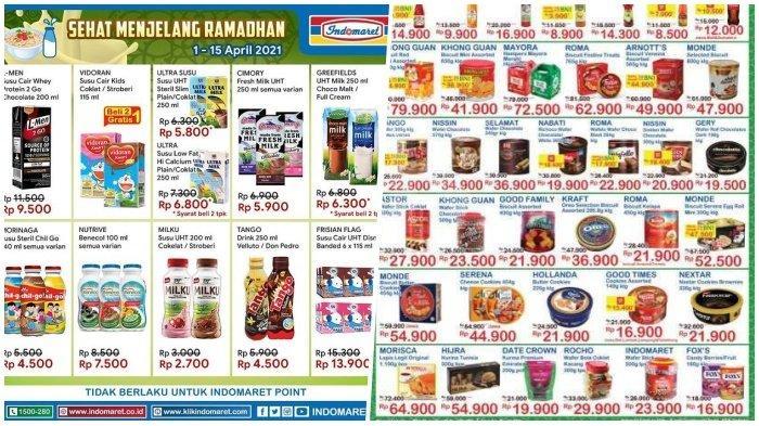 Promo Indomaret Hari Senin 12 April 2021,Belanja Hemat Jelang Ramadhan, Cek Katalognya di Sini!
