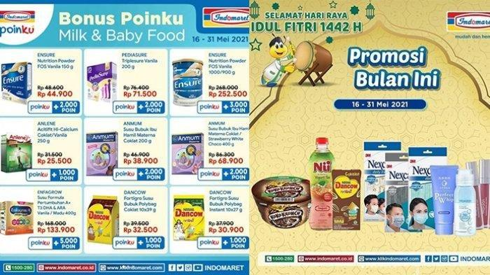 Promo Indomaret Hari Senin 17 Mei 2021, Susu dan Makanan Bayi Murah, Cek Katalognya!
