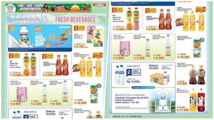 Promo Indomaret Hari Senin 19 April 2021, Teh Botol Beli 2 Lebih Hemat, Cek Katalognya di Sini