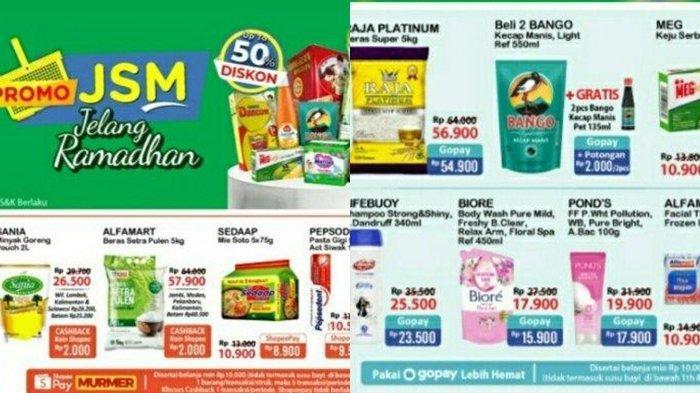 Promo Alfamart 9 April 2021 Diskon Sampai 50 Persen Beli 5 Lebih Hemat Beli 2 Gratis 1, Cek Katalog