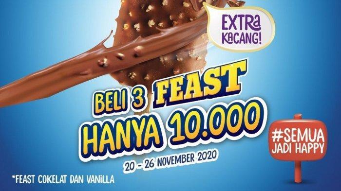 Promo Jsm Alfamart Es Krim Wall S Beli 3 Feast Hanya Rp 10 000 Selengkapnya Cek Katalog Berikut Halaman 2 Tribun Manado