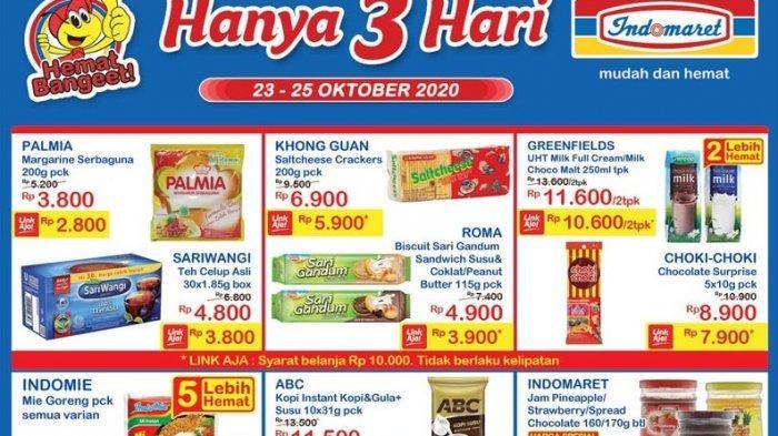 Promo Jsm Indomaret 23 25 Oktober 2020 Dapatkan Diskon Dan Produk Murah Buruan Belanja Tribun Manado