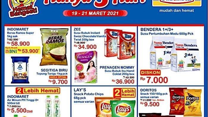 Promo JSM Indomaret Hari Jumat 19 Maret 2021, Minyak Goreng Murah dengan Link Aja, Cek Katalognya