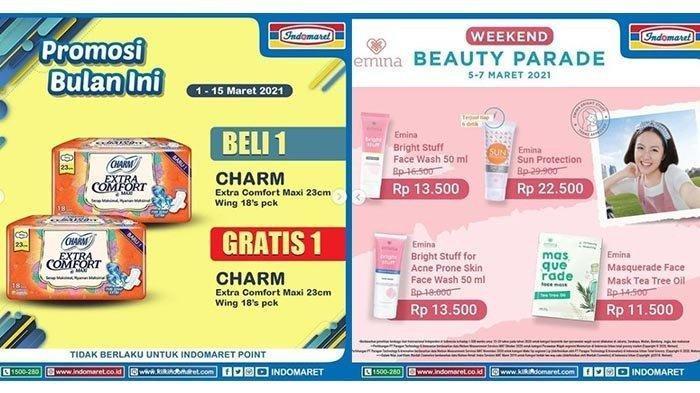 Promo JSM Indomaret Hari Minggu 7 Maret 2021, Ada Weekend Beauty Parade, Cek Katalognya di Sini!