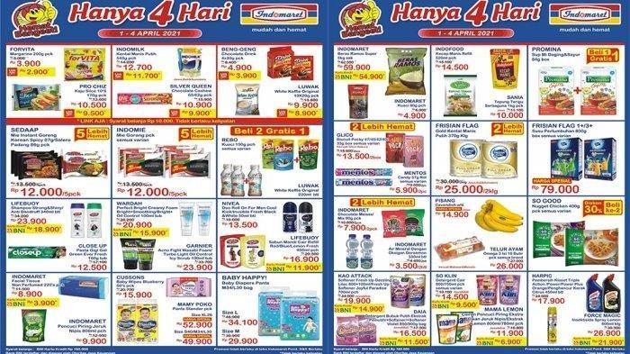 Promo JSM Indomaret Hari Sabtu 3 April 2021, Detergen 900g Hanya Rp11.500, Cek Katalognya di Sini