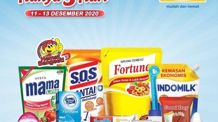 Promo JSM Indomaret Terbaru Periode 11-13 Desember 2020, Ada Harga Khusus untuk Sabun Pembersih