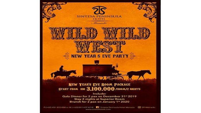 Promo New Year's Eve Party, Rayakan Malam Tahun Baru Berama Sintesa Peninsula Hotel