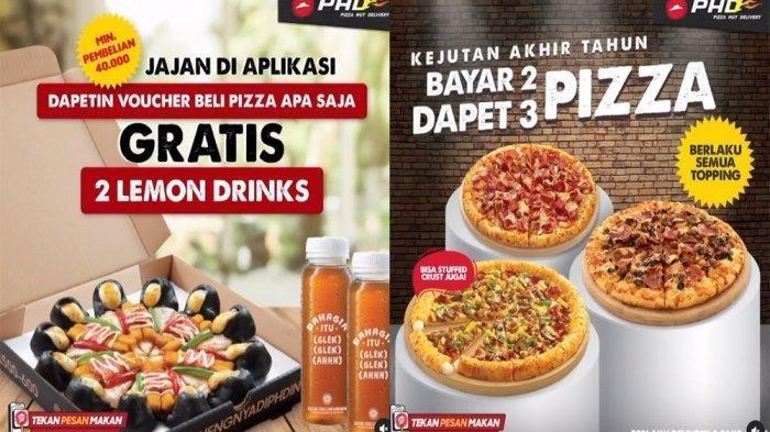 Promo Hari Ini, Pizza Hut Beli 1 Gratis 1 di Moment Akhir Tahun, Promo Pizza Hut Sampai 31 Desember
