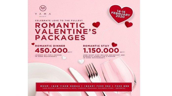 Promo Romantic Valentine Package Dari Yama Resort, Cek Yuk!