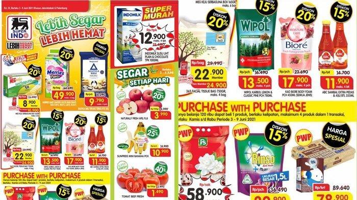 Promo Superindo 4 Juni 2021, Popok Bayi Diskon 40 Persen, Harga Hemat untuk Bahan Dapur, Cek Katalog