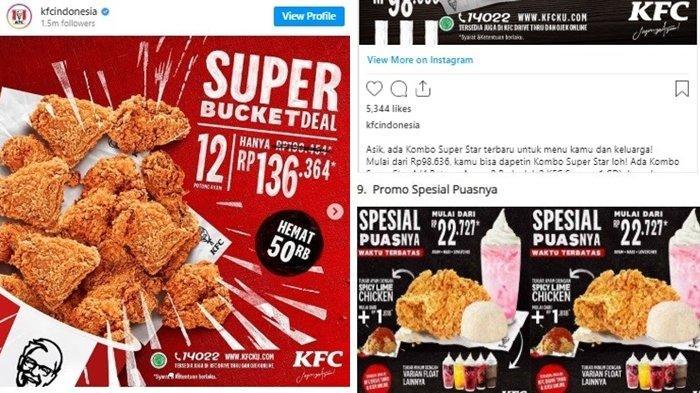 PROMO TERBARU KFC, Makan Puas Rp 22.727 hingga Super Bucket Deal Dapat 12 Potong Ayam
