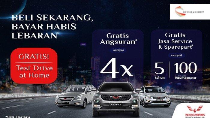Promo Terbaru Wuling Manado, Beli Sekarang Bayar Habis Lebaran, Cek Yuk