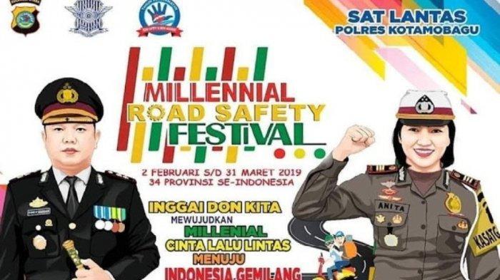 Bakal Dihadiri DJ Una, 4.000 Tiket MRSF Satlantas Polres Kotamobagu Terjual