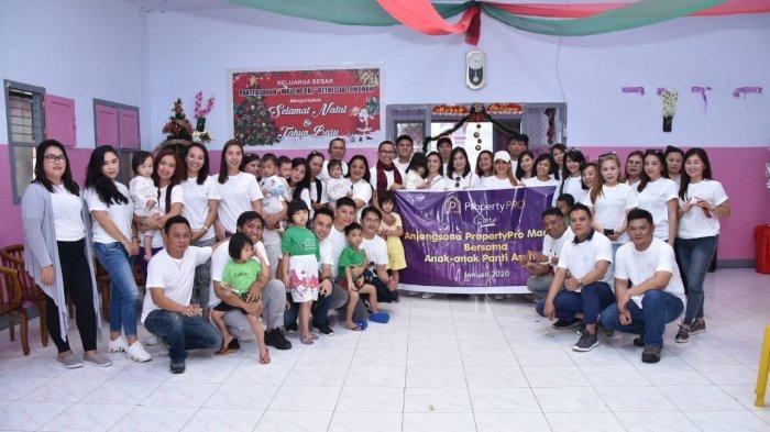 PropertyPro Tim Sendy Berbagi Kebahagiaan dengan Anak Yatim Piatu di Tomohon dan Minahasa