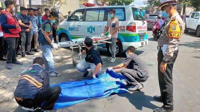 Kecelakaan Maut Pukul 10.00 WIB, Pelajar Tewas Terlindas Truk, Korban Oleng saat Melambung dari Kiri