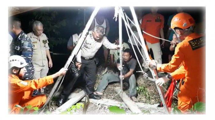 DRAMA EvakuasiMayat Jhonny Manoppo dari Sumur, Ada Ular Hitam hingga 4 KaliGagal Angkat Jenazah