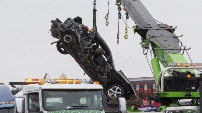 Kecelakaan Maut, 6 Orang Tewas dan Puluhan Luka-luka Kecelakaan Beruntun, Ratusan Kendaraan Terlibat