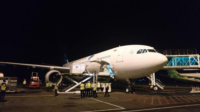Garuda Indonesia Komit Jalankan Direct Call ke Jepang, Kirim 356 Ton Produk Perikanan Pertanian