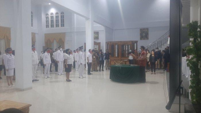 Kembali Rombak Kabinet, Wali Kota Tomohon Caroll Senduk Lantik 64 Pejabat, Termasuk 11 Lurah Baru