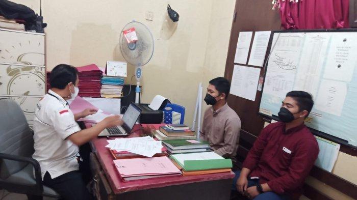 Polsek Sitim Kabupaten Sitaro Periksa Pedagang Keliling Asal Provinsi Jambi