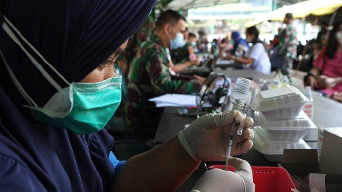 Jajaran Kodam XIII/Merdeka Terus Beri Pelayanan Vaksinasi