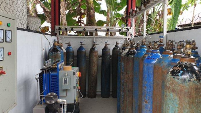 Corona di Kabupaten Sitaro Terus Bertambah, Permintaan Oksigen Medis Meningkat