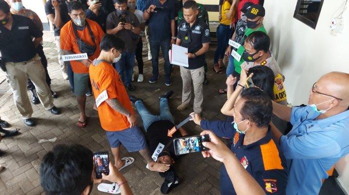 Kasus Penganiayaan Anggota TNI AD, Pimpinan Polri dan TNI Saksikan Reka Ulang Kejadian