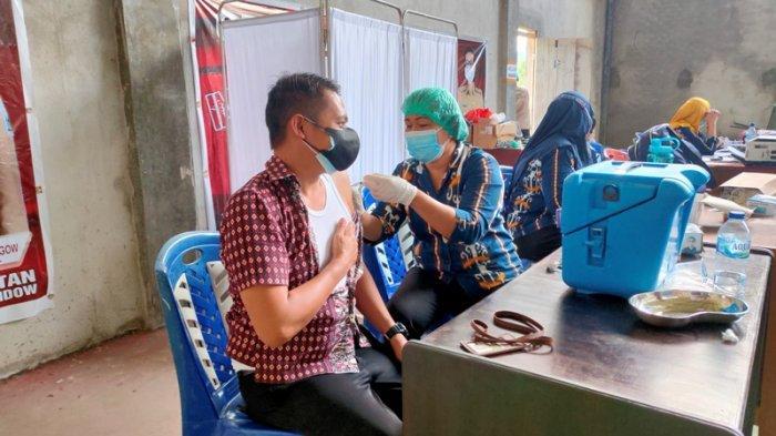 120 Pelayan Publik di Bolmong Terima Vaksin Kedua
