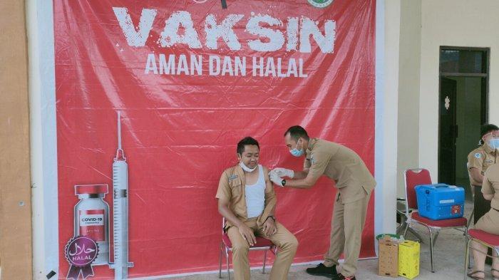 Hingga April 2021, Sudah 1500 Orang di Kabupaten Bolsel Ikut Program Vaksinasi