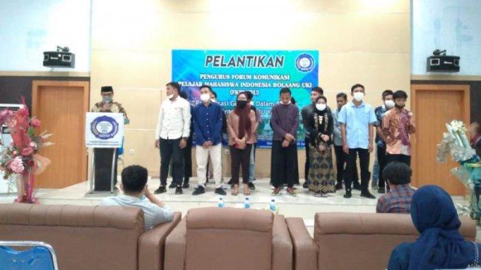 Pengurus FKPMIBU Resmi Dilantik, Ini Harapan Sekcam Bolaang Uki Kabupaten Bolsel