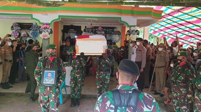 Junifer Kahosadi, Anggota TNI AD yang Meninggal Kecelakaan di Gorontalo Dimakamkan Secara Militer